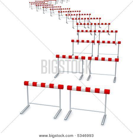 Hurdles Track