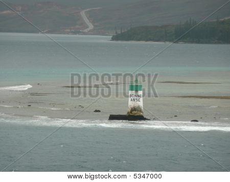 A Remote Lighthouse Near Noumea