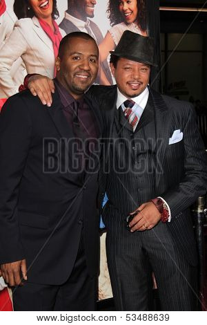 LOS ANGELES - NOV 5:  Malcolm D. Lee, Terrence Howard at the