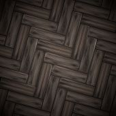 Illustrated wood parquet texture. Vector illustration. Eps 10. poster