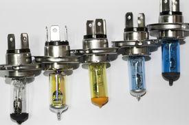 Car lamp lights standard 4 H