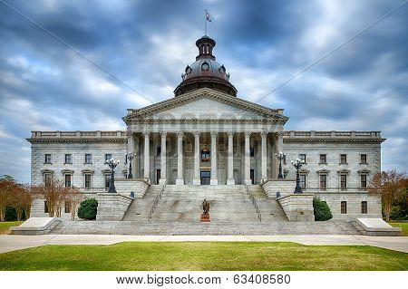 South Carolina state capitol building or Statehouse