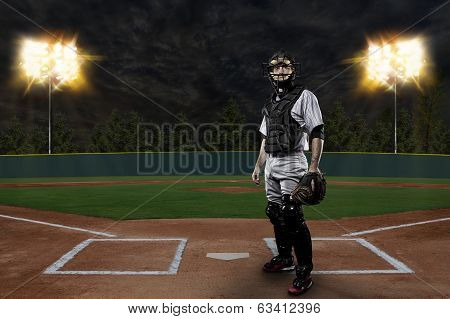 Catcher Baseball Player