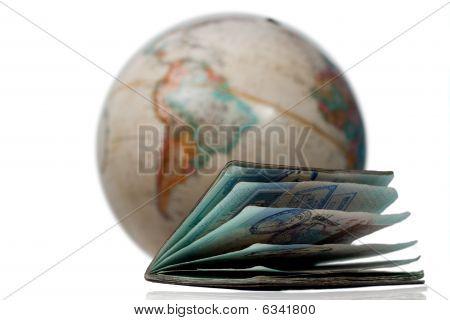 Well used passport
