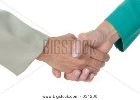 Business Women Handshake 2