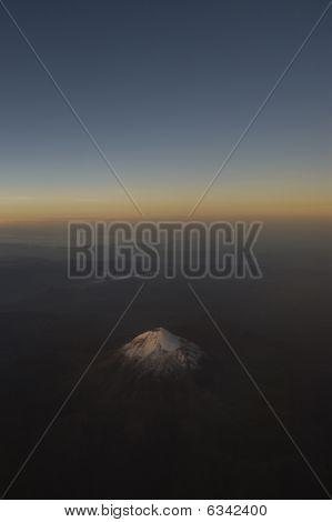 Popocatépet Mexican Volcano