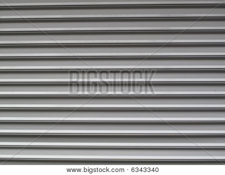 Gray Garage Door