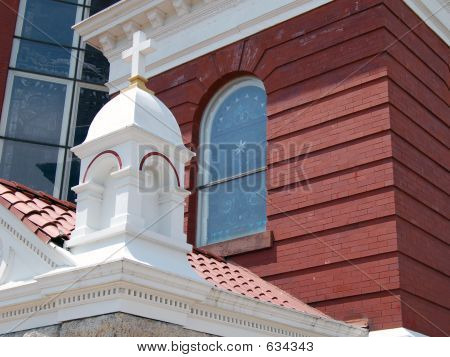 Cross On Church Roof