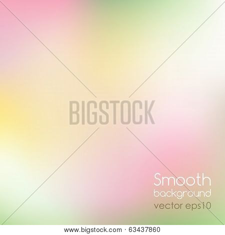 Vector illustration Smooth colorful background EPS 10 poster