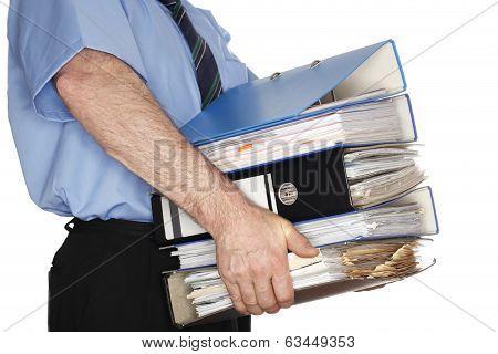 some heavy folders