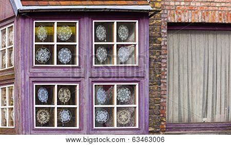 Lacemakers Window Display, Bruges, Belgium