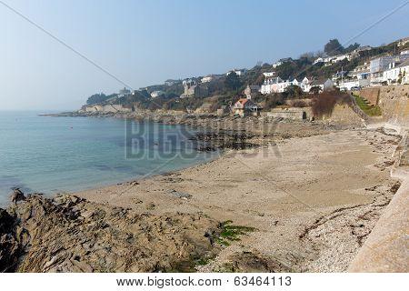 St Mawes coast Cornwall England UK