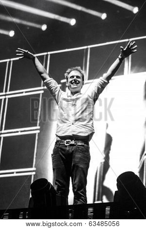 Members of ARMIN ONLY: Intense show with Armin van Buuren in Minsk-Arena on February 21, 2014