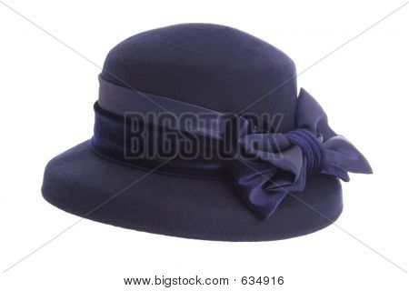 Ladies Blue Hat