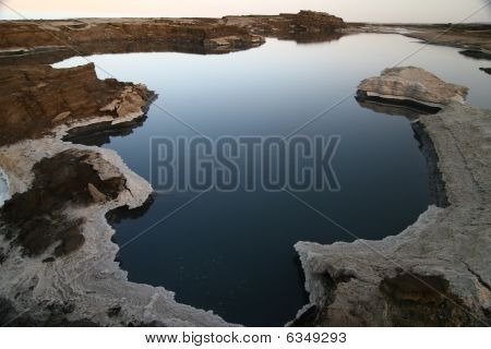 Dead Sea Mineral Salt Pools