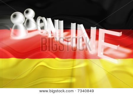 Flag Of Germany Wavy Online
