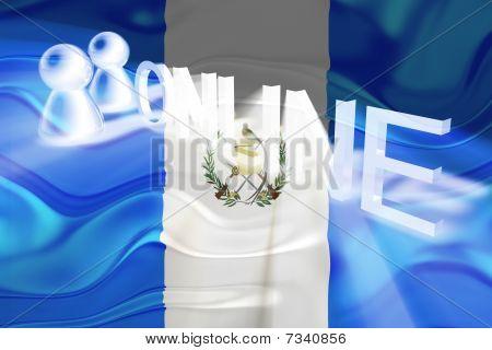 Flag Of Guatemala Wavy Online