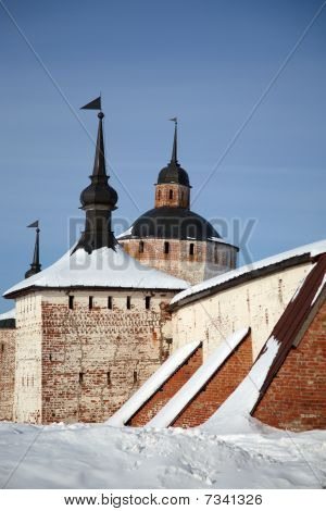 Fortifications Of Kirillo-belozersky Monastery, Russia