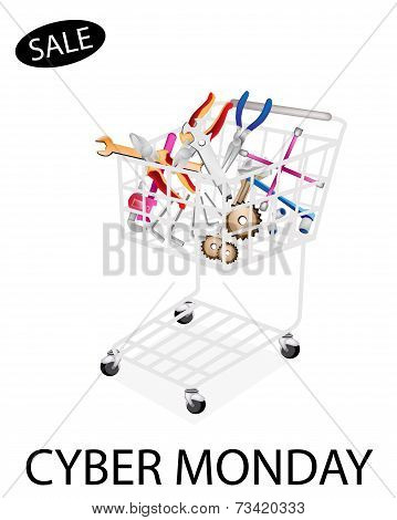 Auto Repair Tool Kits in Cyber Monday Shopping Cart