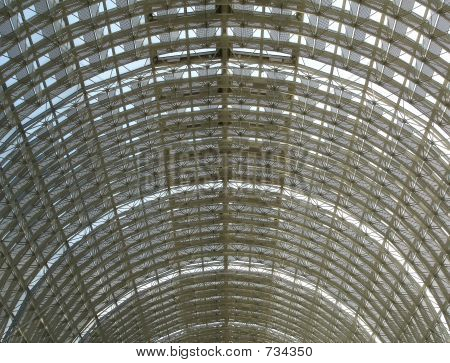 Arched roof