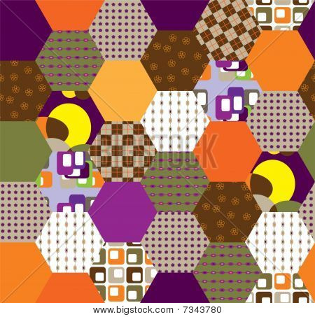 Retro patchwork