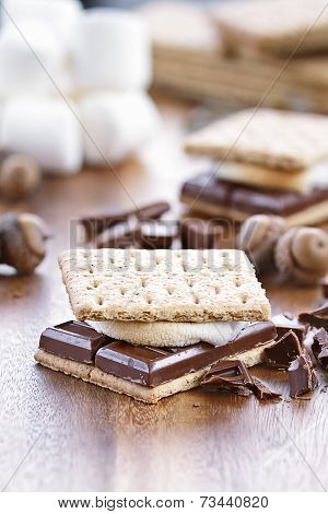 Smores And Ingredients