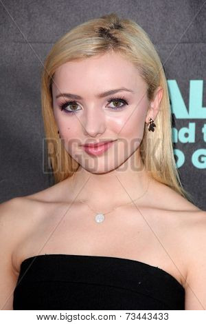 LOS ANGELES - OCT 6:  Peyton List at the