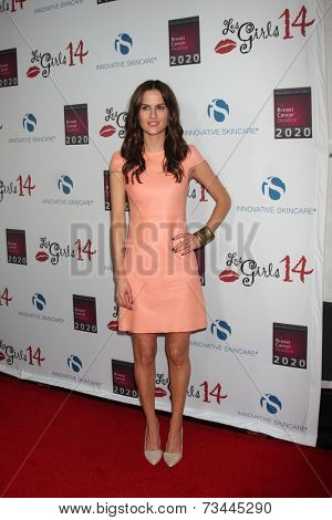 LOS ANGELES - OCT 6:  Brit Shaw at the Les Girls 14 at Avalon on October 6, 2014 in Los Angeles, CA