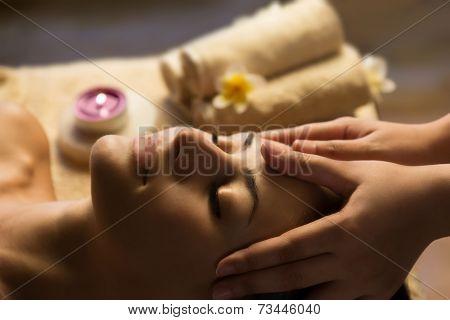 Facial SPA massage