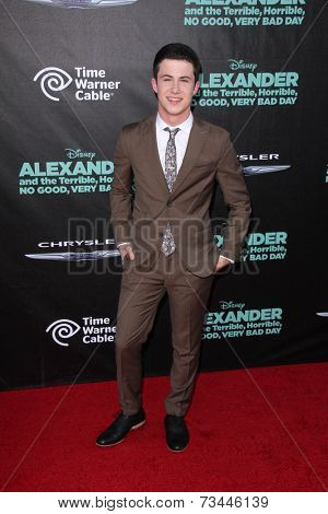 LOS ANGELES - OCT 6:  Dylan Minnette at the