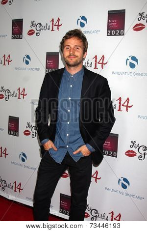 LOS ANGELES - OCT 6:  Michael Stahl-David at the Les Girls 14 at Avalon on October 6, 2014 in Los Angeles, CA