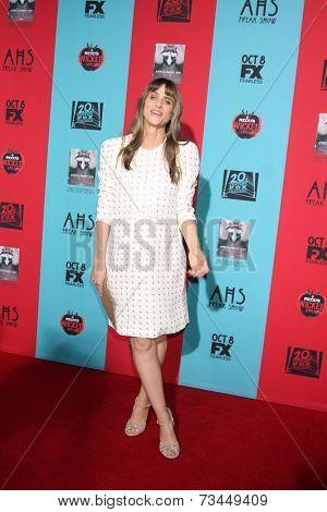 LOS ANGELES - OCT 5:  Amanda Peet at the