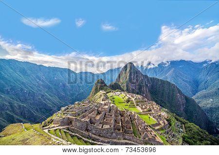 Machu Picchu Panorama