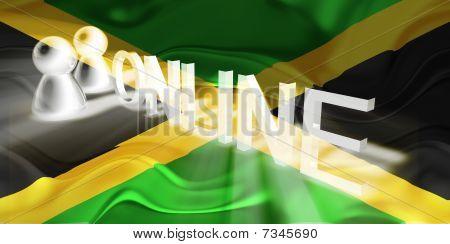 Flag Of Jamaica Wavy Online
