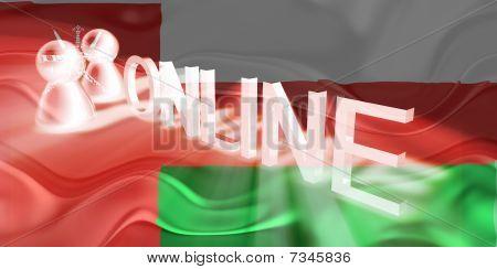 Flag Of Oman Wavy Online