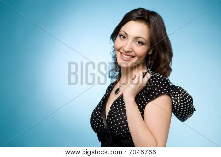 Portrait Of A Happy Jewish Woman