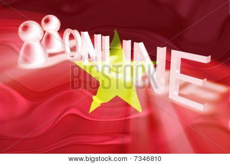 Flag Of Vietnam Wavy Online