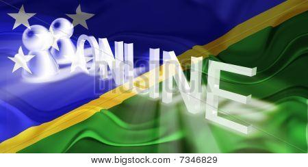 Flag Of Solomon Islands Wavy Online
