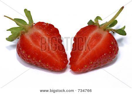 Cut Strawberry