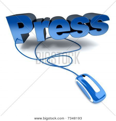 Press In Blue
