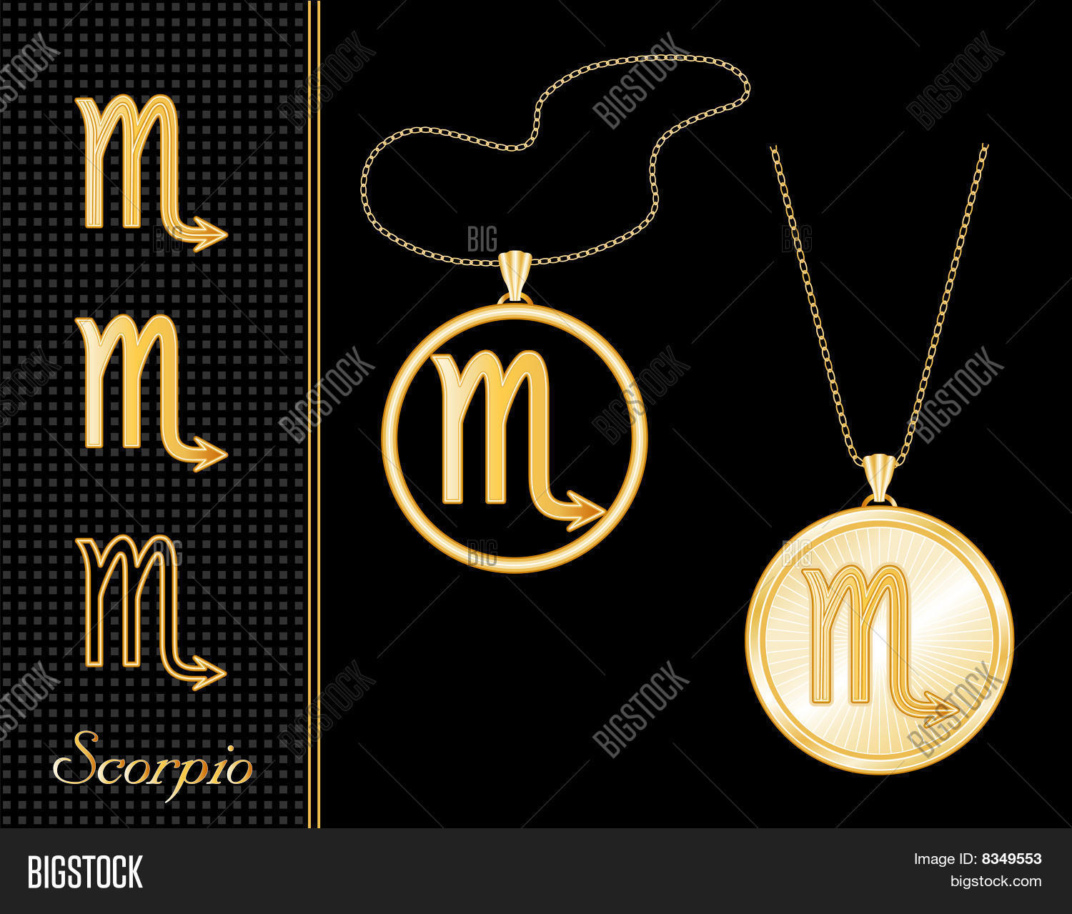 products tiffany necklaces the jewelry scorpio necklace enlarged pendant and medallion co