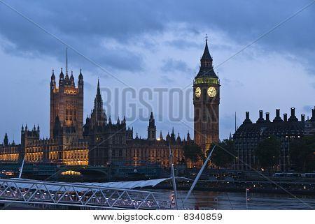London, the parliament