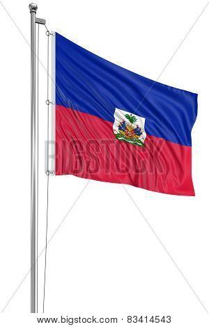 3D Haitian flag