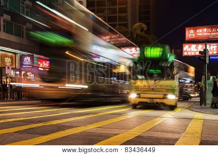Public Transport On The Street