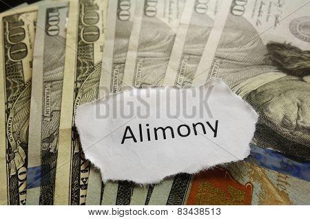 Alimony Note