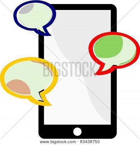 Messaging On A Cellphone