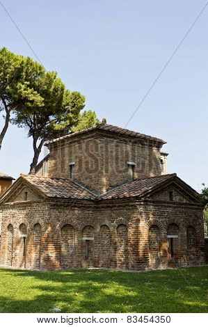 Ravenna Mausoleum Of Galla Placidia