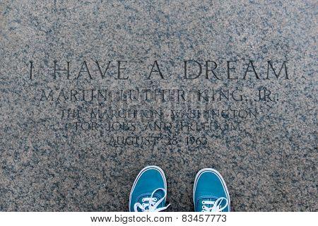 I Have A Dream, Inscription, Lincoln Memorial