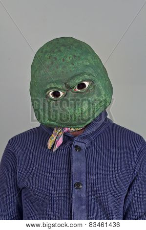 Lizard Mask Sweater