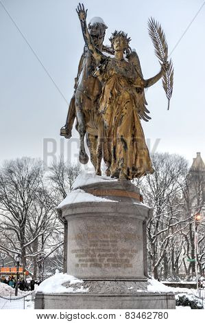 William Sherman Monument - Central Park, New York